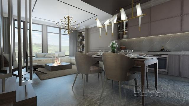 Salon w stylu klasycznym  1