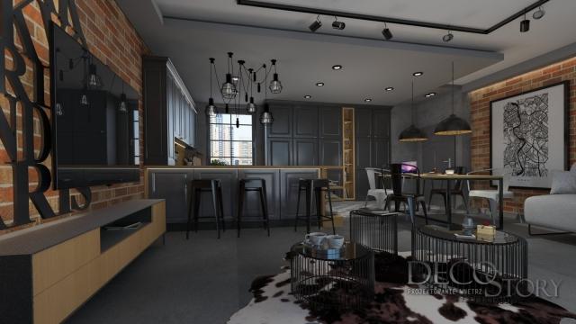 salon w stylu loft 1